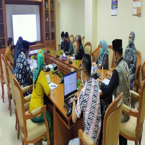 Kunjungan Tim Evaluator Penilaian Pelayanan Publik Tahun 2020